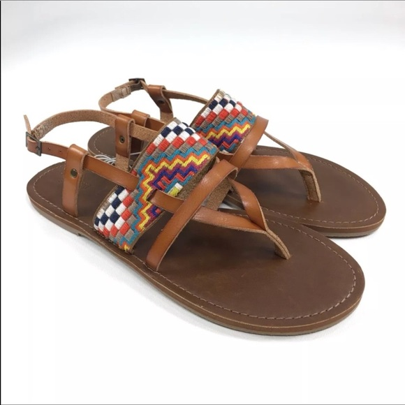 Blackbrown 6 Sandals Twotoned Mossimo Size Color T g76vYfymbI